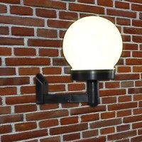 Solarna zidna svijetiljka 1LED 11x11x15 cm Outdoor lights
