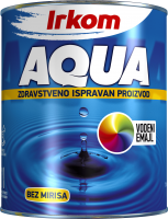 Aqua emajl Saten 700ml Irkom