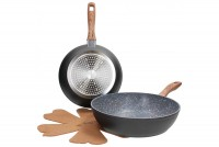Set tiganja Grancucina Country Chic Diamond 24/28cm 2/1 Tognana